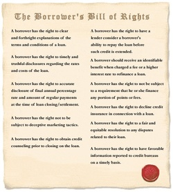 Borrowersbillofrights